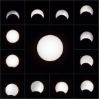 日蚀 solar eclipse